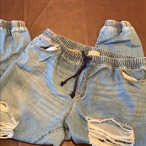 So cool distressed jeans